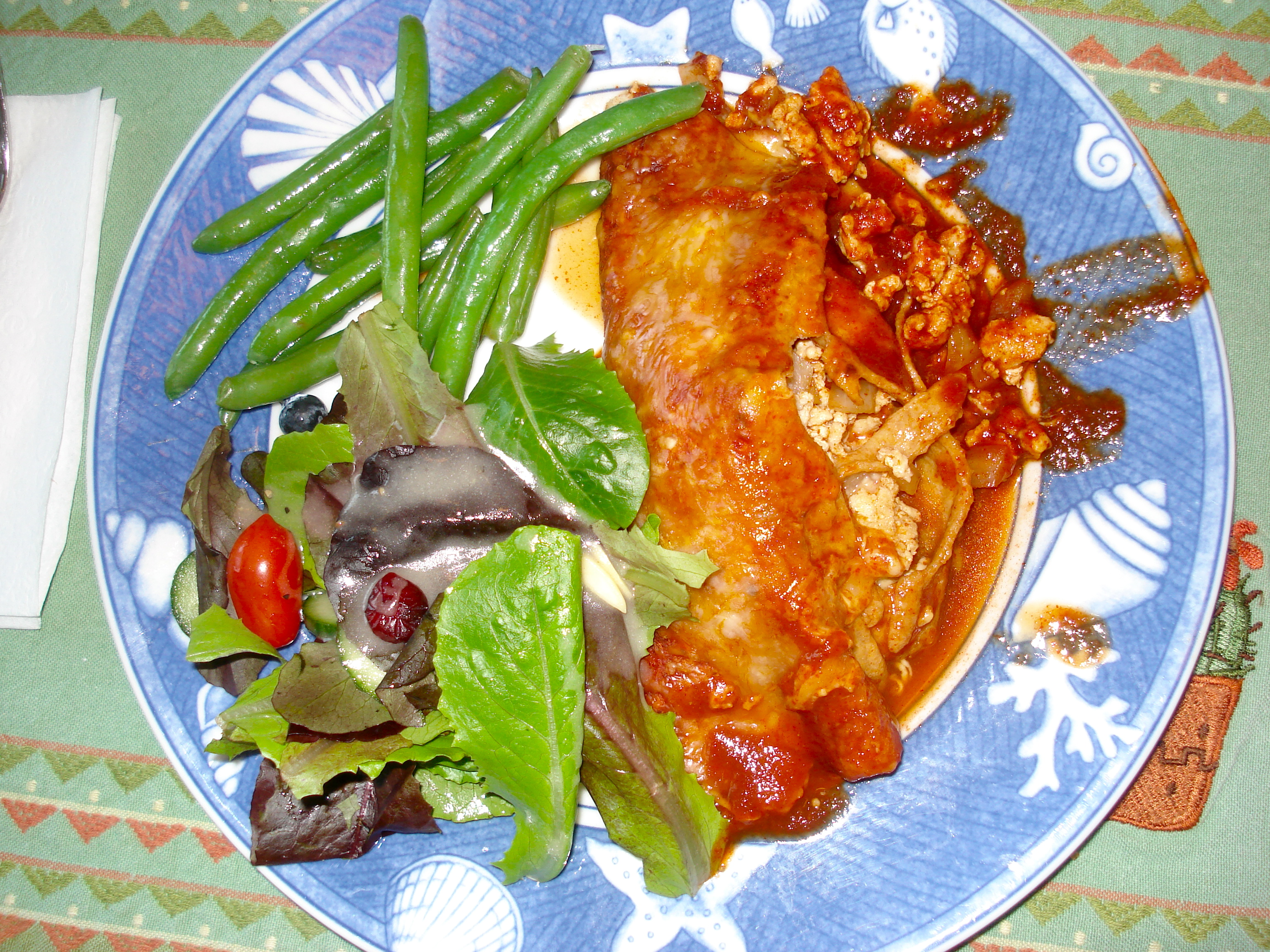 turkey enchiladas | Day-By-Day Masterpiece