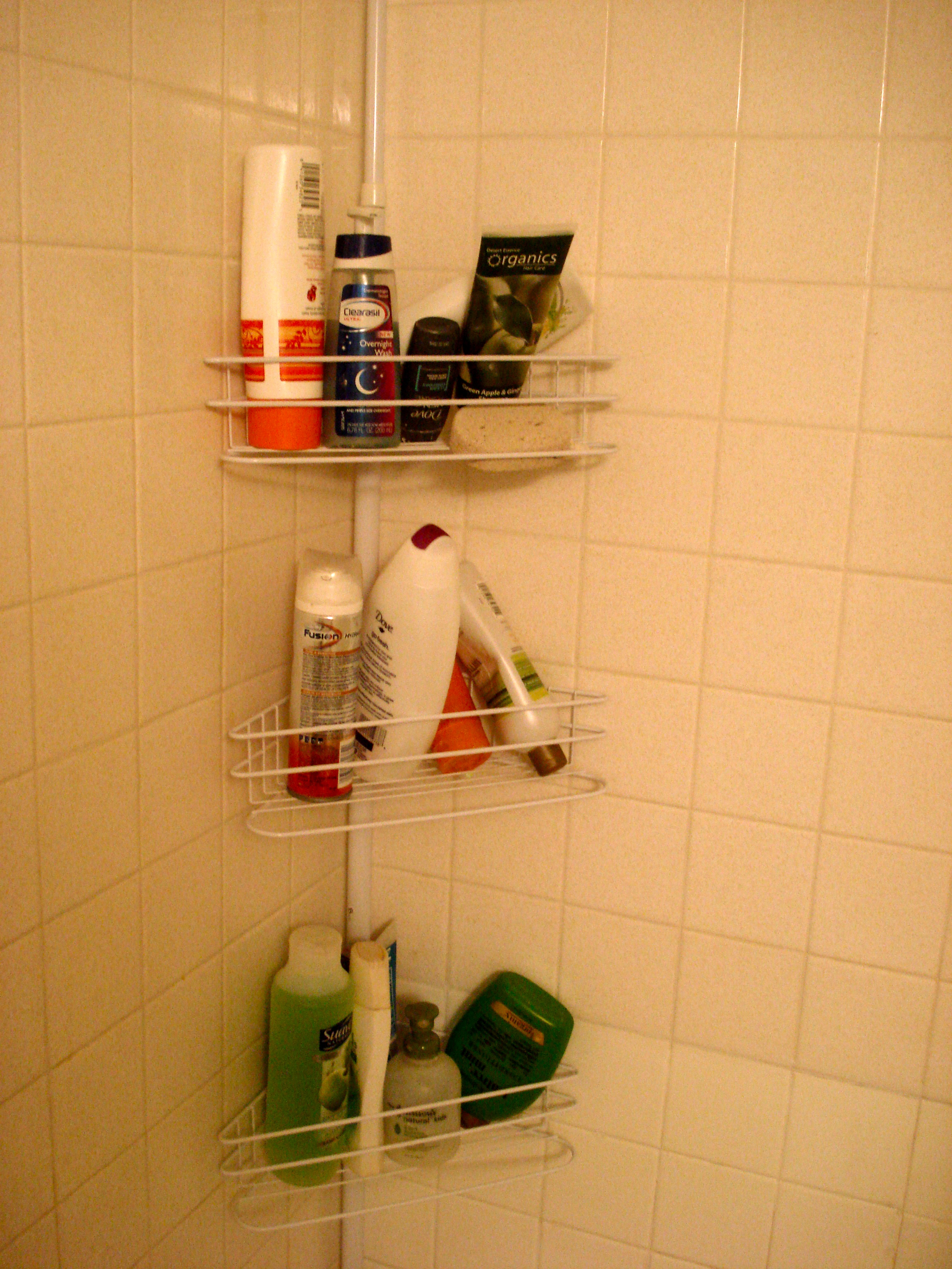 shower caddy | Day-By-Day Masterpiece