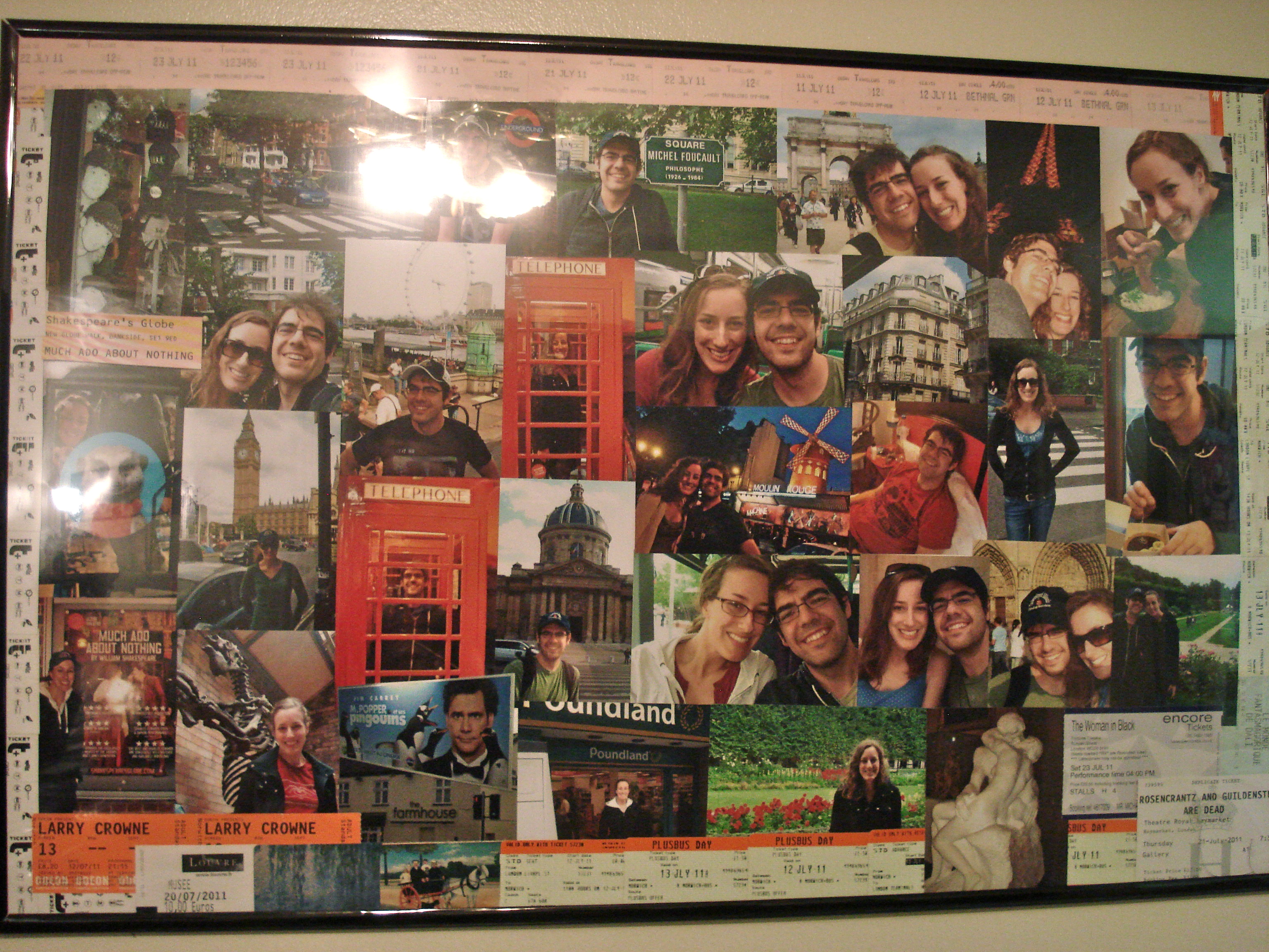 homemade photo collage poster | Day-By-Day Masterpiece