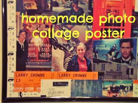 photo collage poster