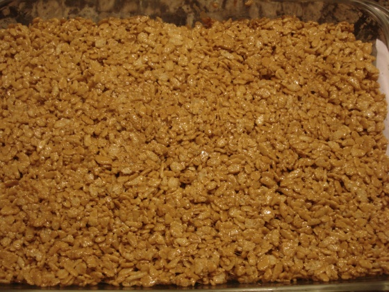 rice krispie treats pumpkin