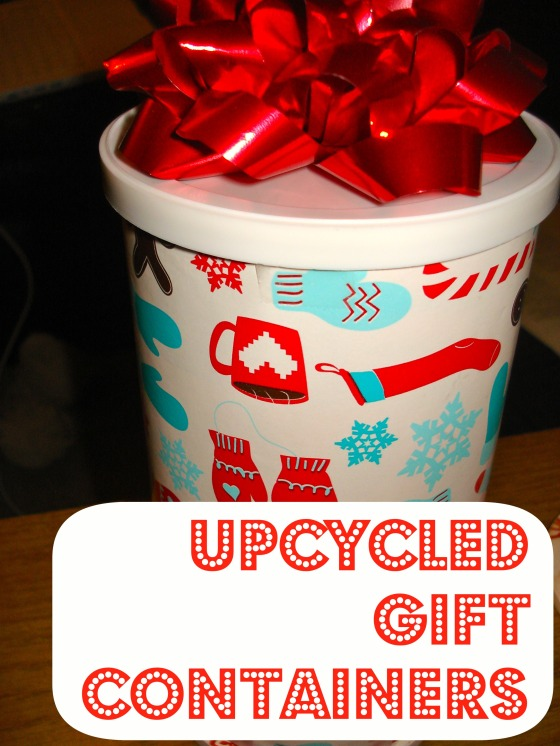 upcycled gift containers