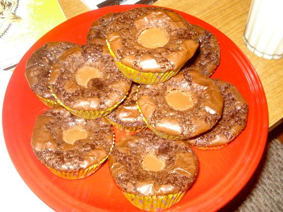 reeses brownies
