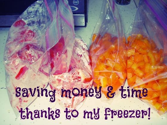 freezing produce
