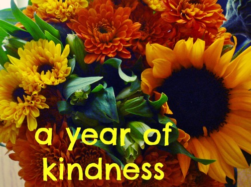 year of kindness button