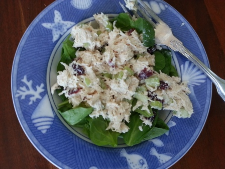 chicken salad lunch