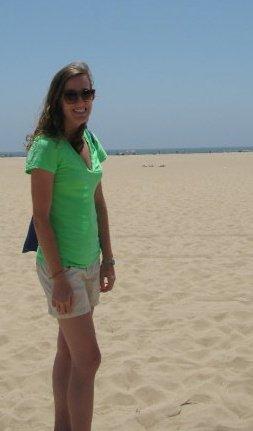 me beachin
