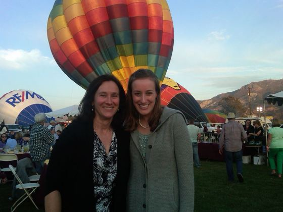 me and mom balloon festival
