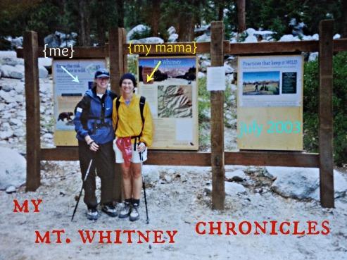 mt whitney chronicles