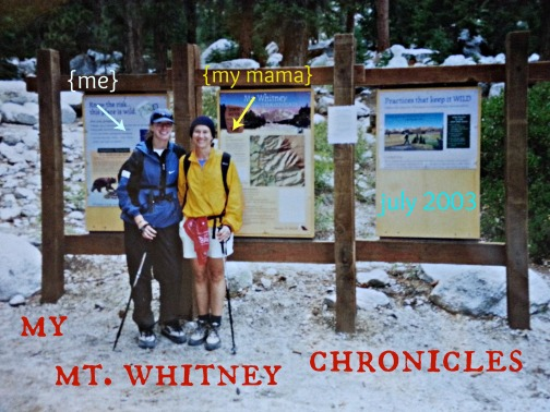 mt whitney chronicles
