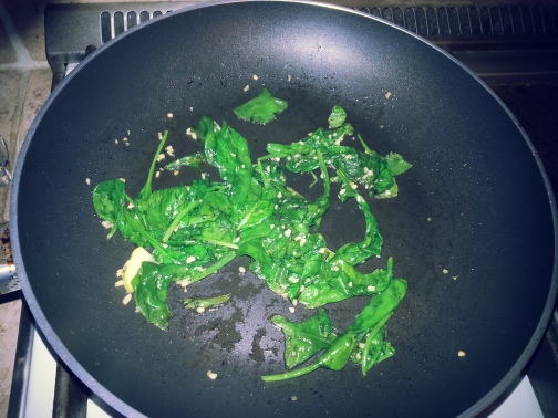 spinach after