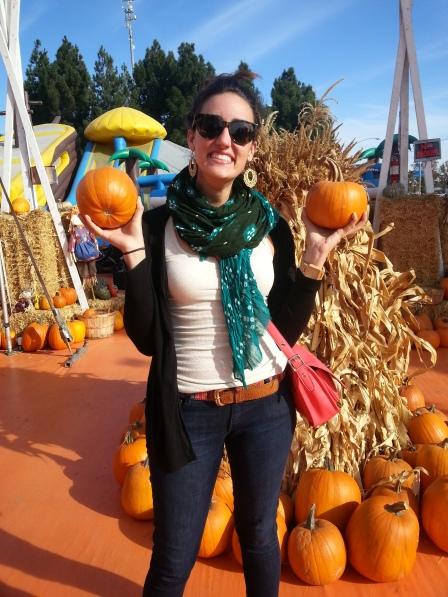 celine pumpkin patch