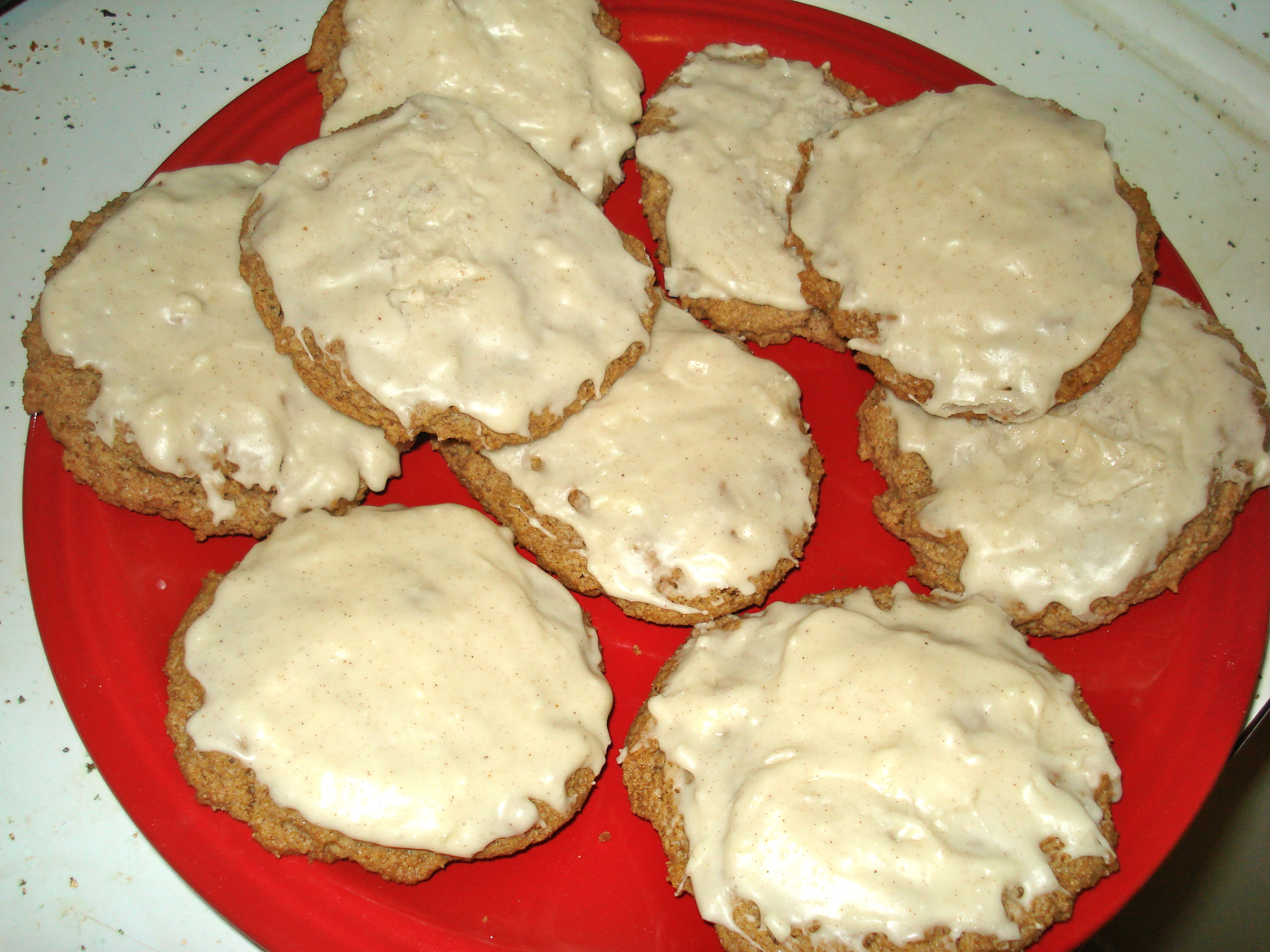 eggnog cookies w/buttercream frosting | Day-By-Day Masterpiece