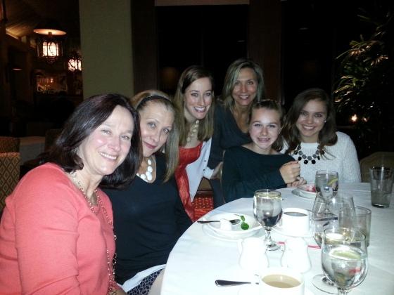 the girls at gmas bday