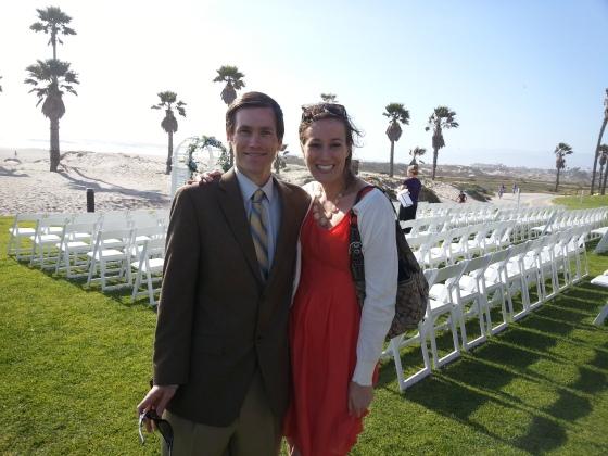me and allyn wedding beach