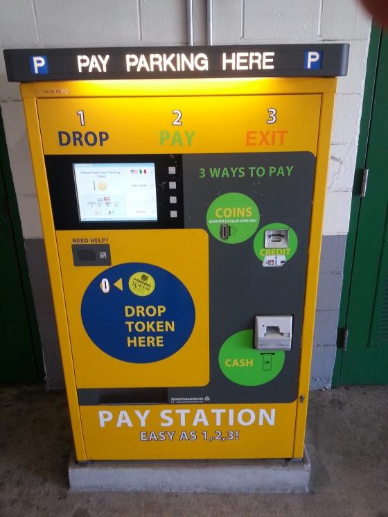 parking garage payment