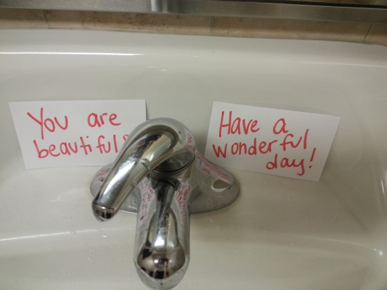 bathroom notes