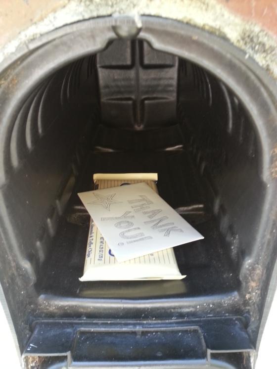 mailman note