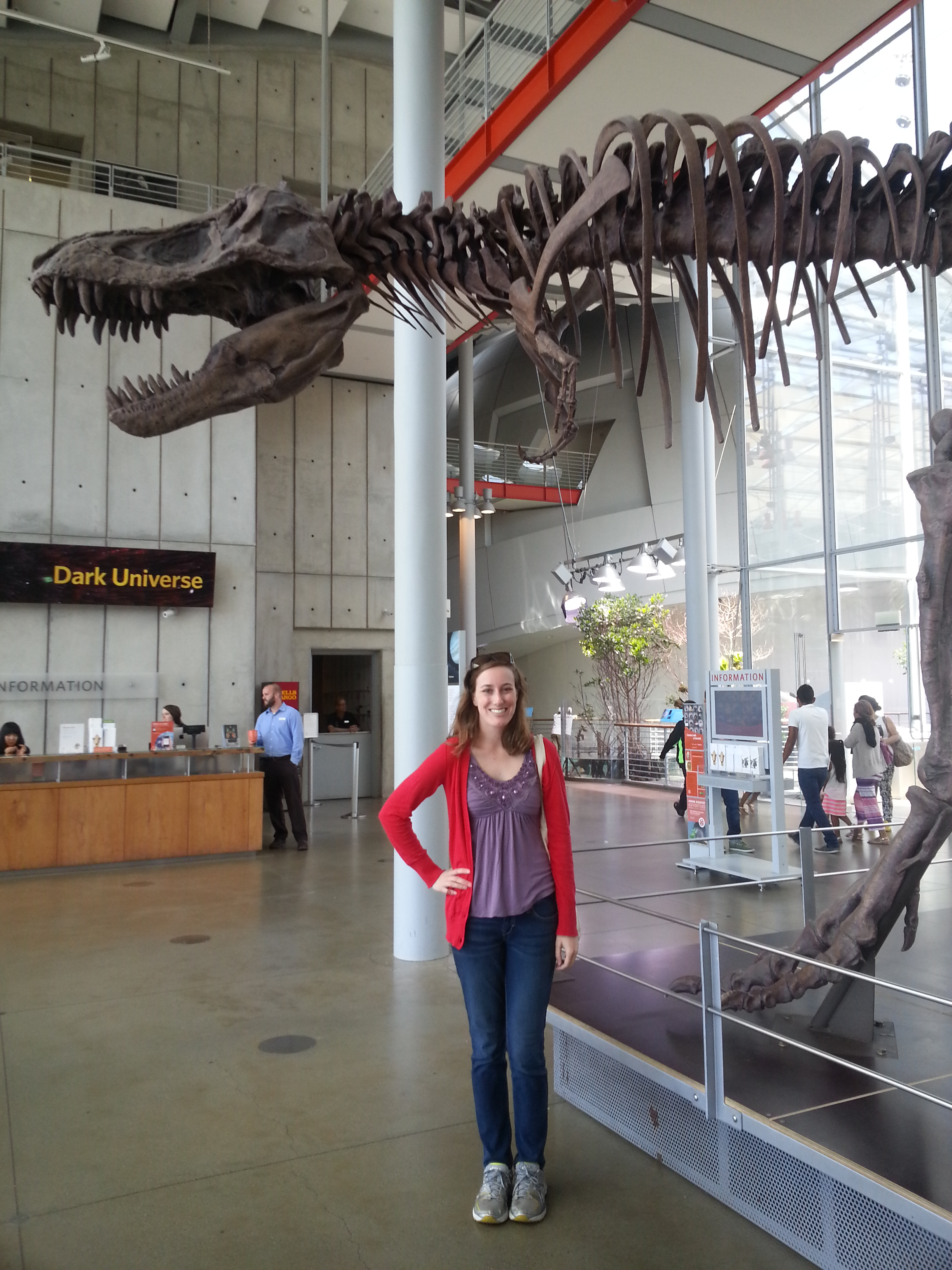 me with trex