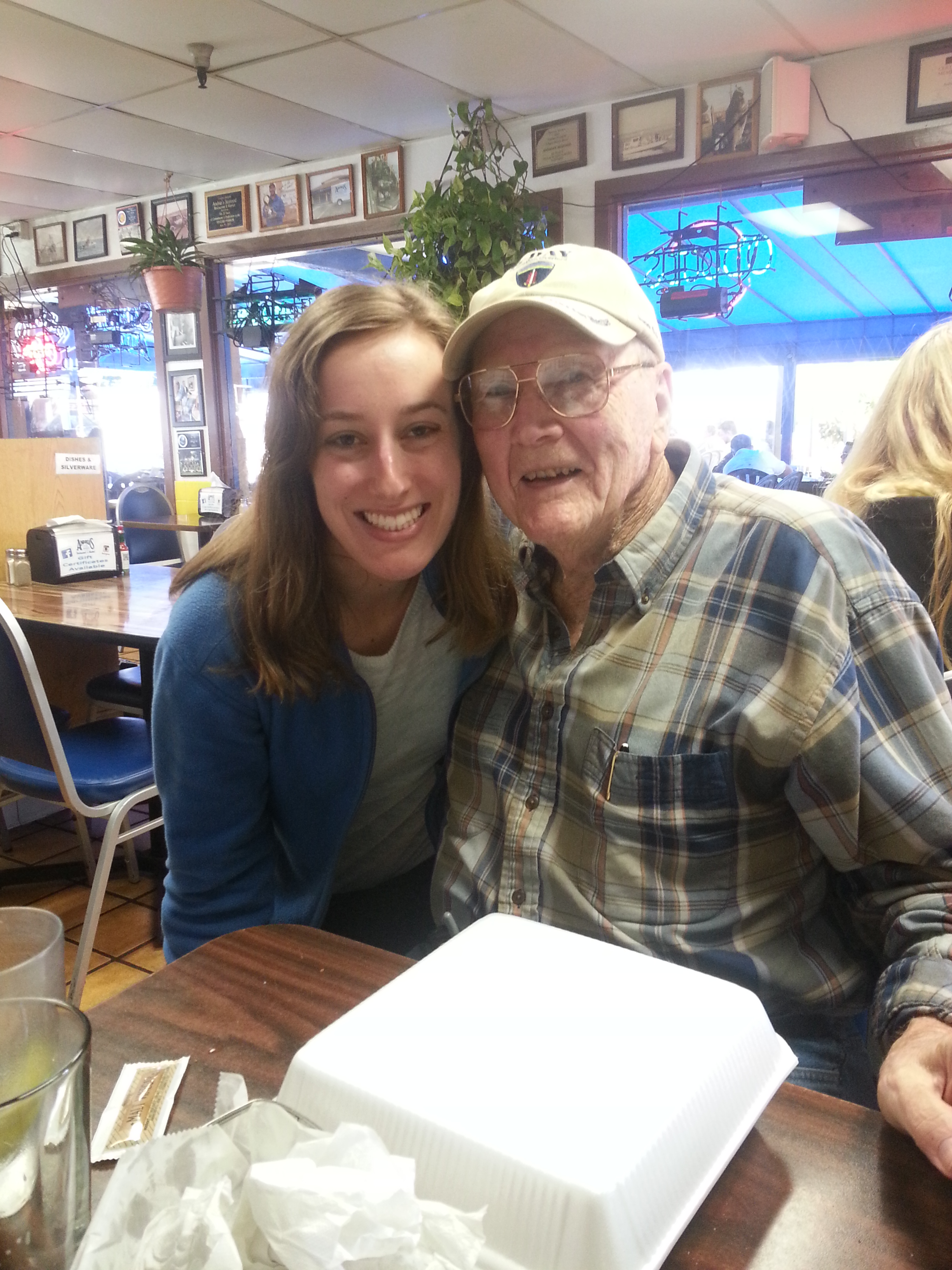 me and Gramps at Andrias