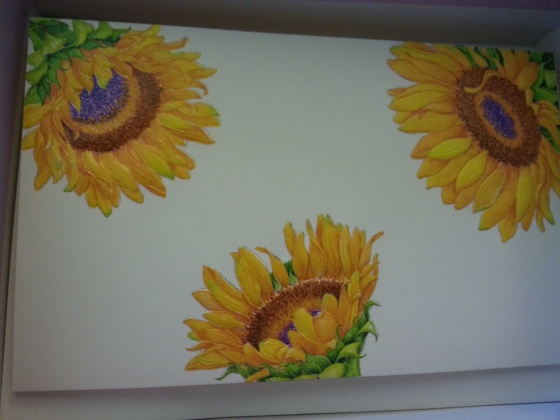 sunflower stationary