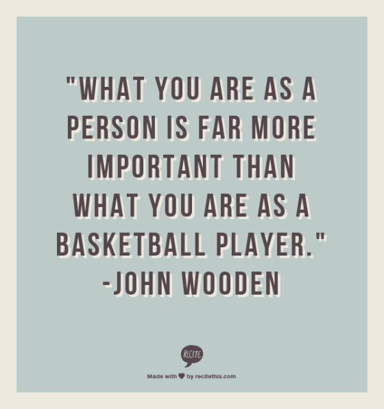 who you are as a person quote