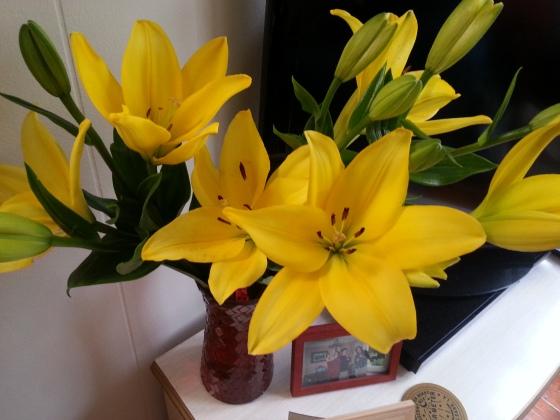flowers from Al