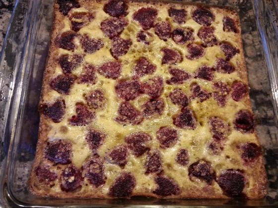 raspberry brown butter bars