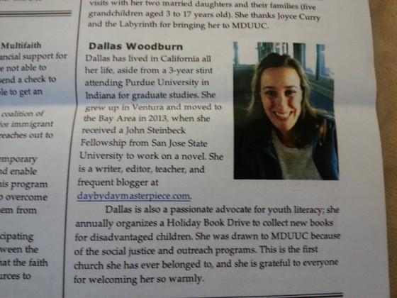 church newsletter