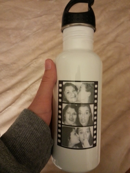 holly water bottle