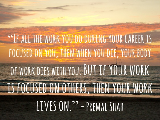 work lives on quote