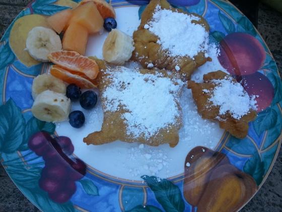 beignets breakfast