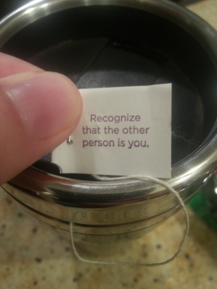tea message