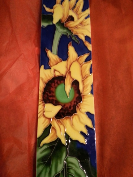 sunflower tile