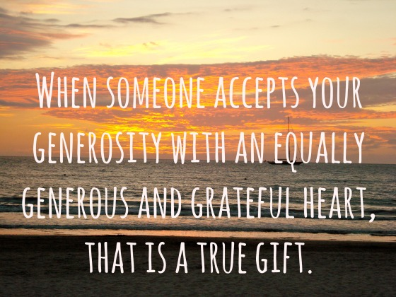 generosity meditation