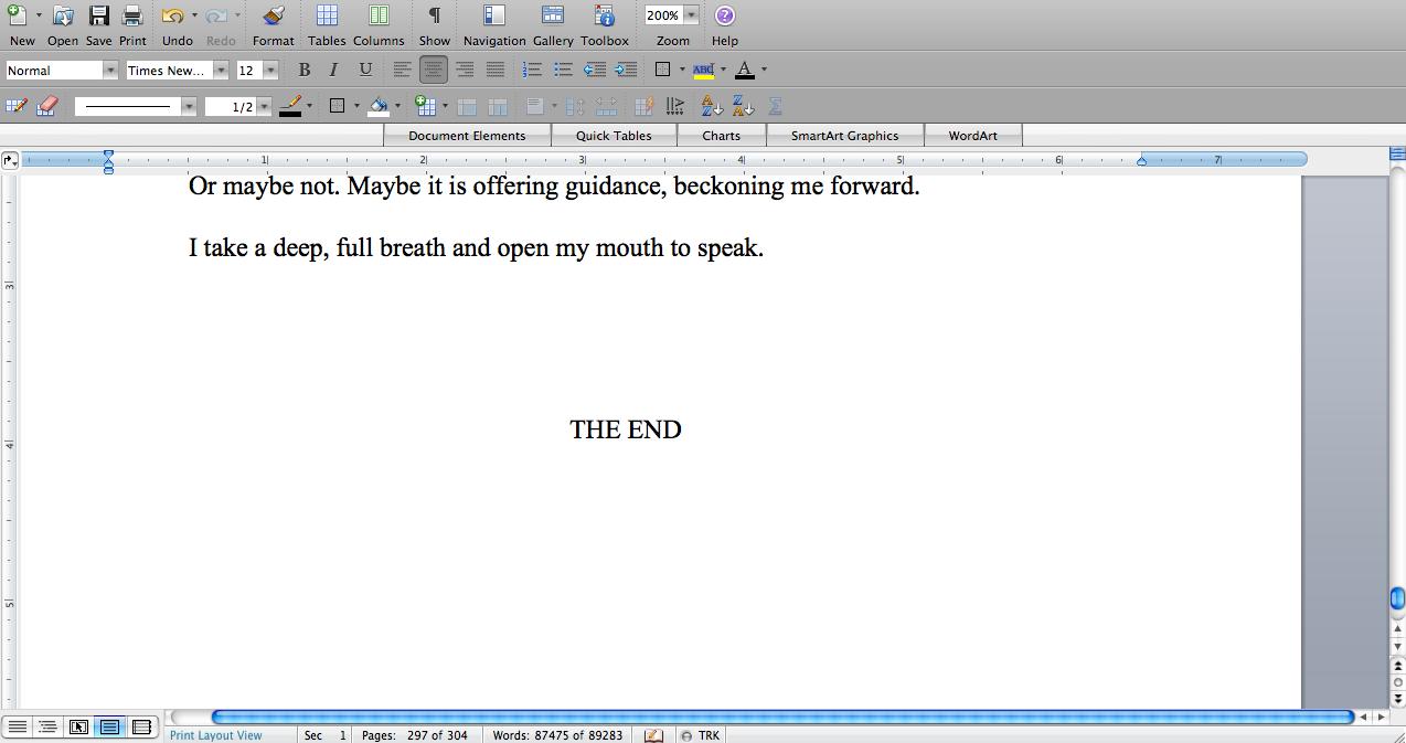 finished novel doc