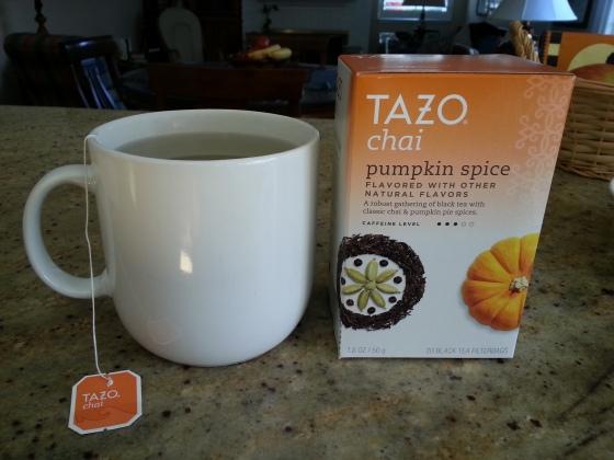 tazo pumpkin spice chai tea