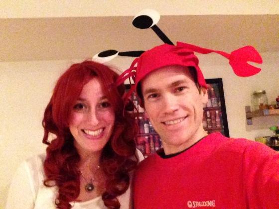 me and allyn halloween