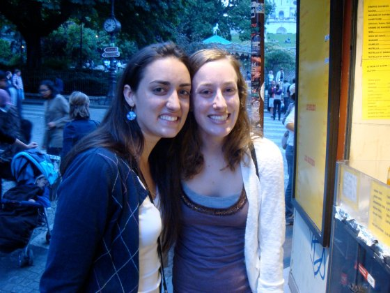 me and celine in Paris