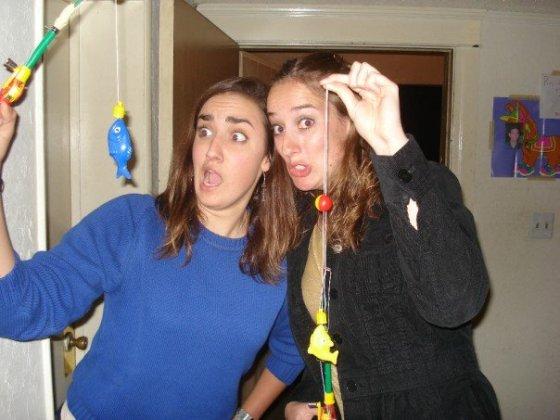 me and celine goofy