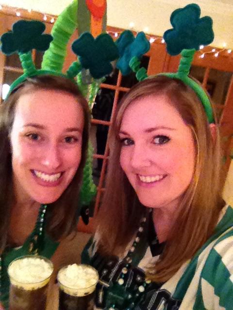 st pattys with dana