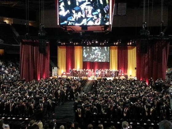 MBA graduation