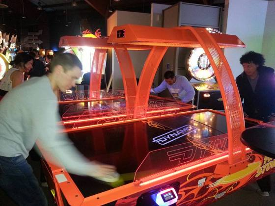 air hockey, guys, games, guys weekend