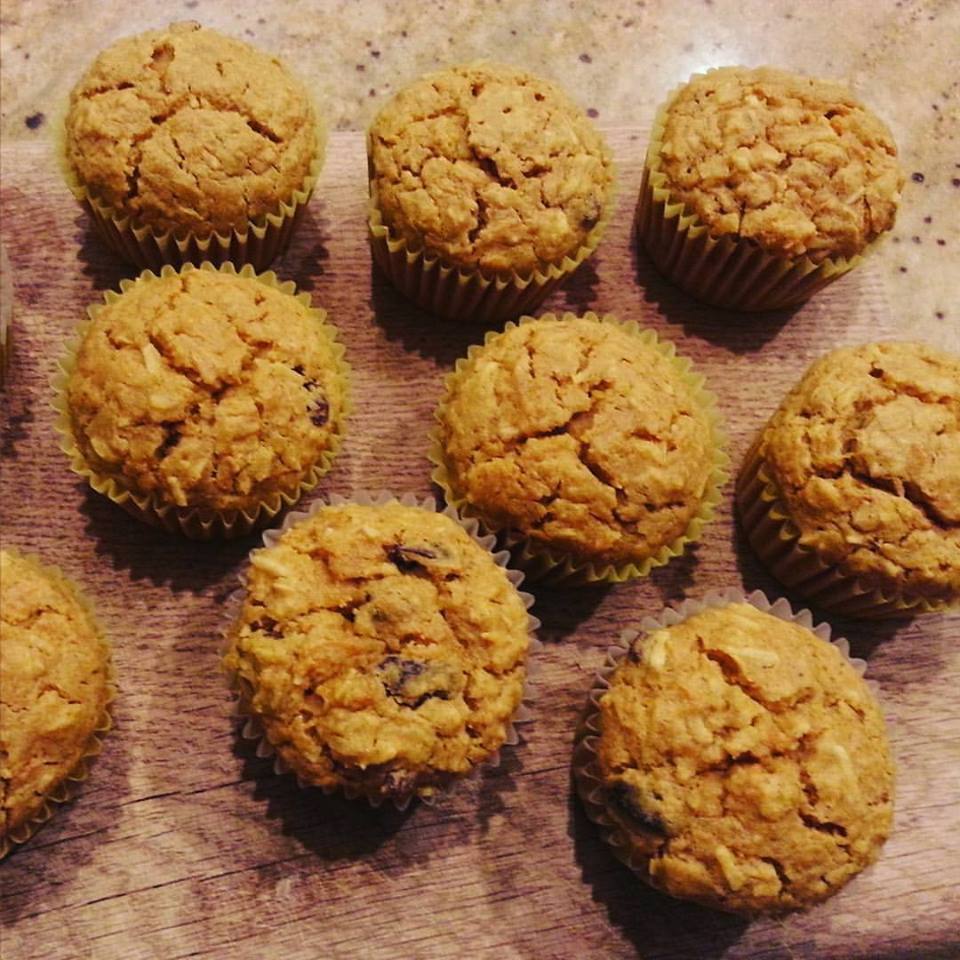 carrot cake coconut muffins w/chickpea flour | Day-By-Day ... | 960 x 960 jpeg 136kB