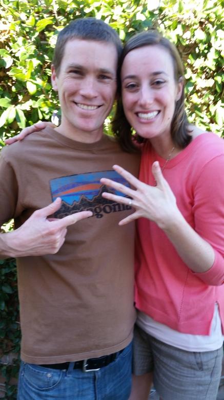 Al and I engaged