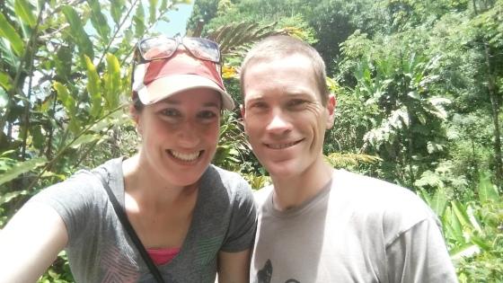me and al jungle selfie